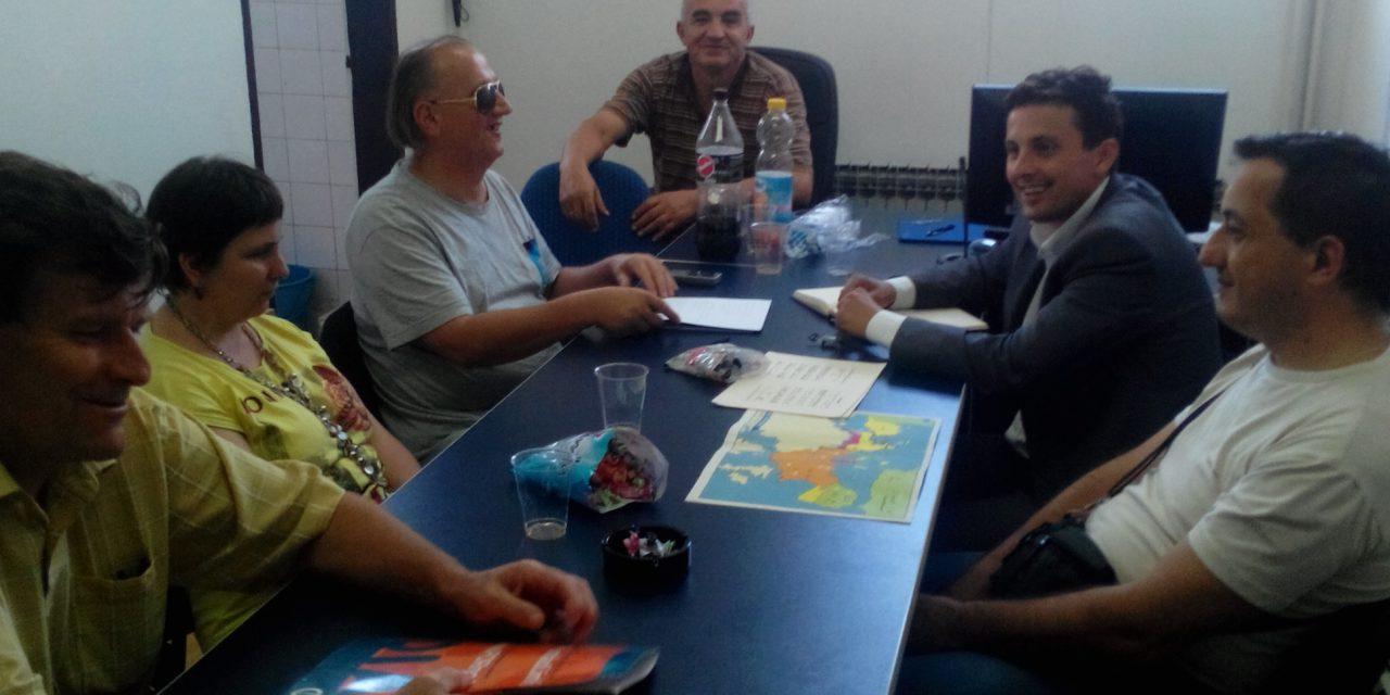 U posjeti Opštinskoj organizaciji slijepih Teslić