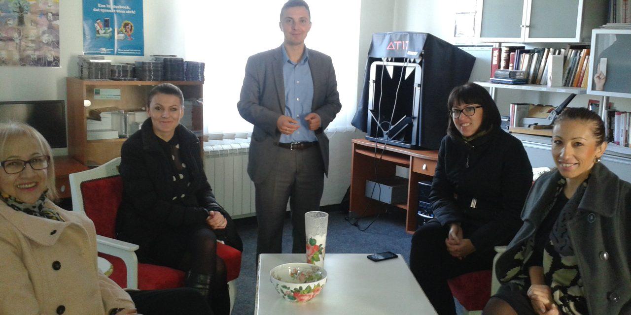 3. decembra volonteri Vlade RS posjetili Specijalnu biblioteku