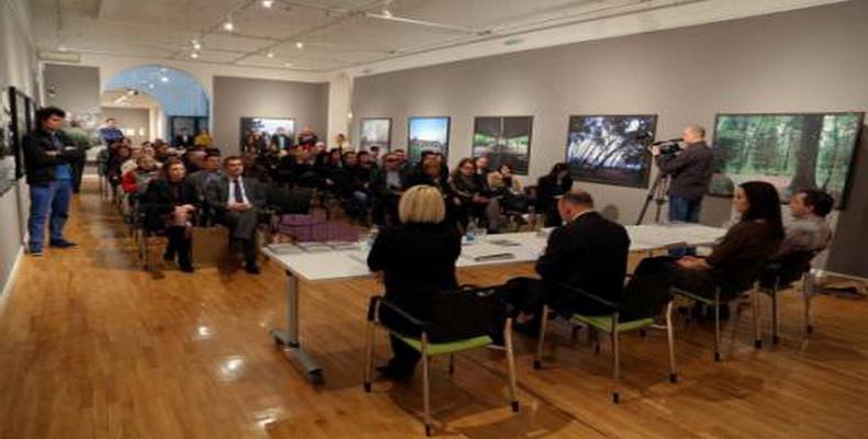 """Promocija publikacije """"Prostor, oblik, dodir"""" u Muzeju savremene umjetnosti RS"""