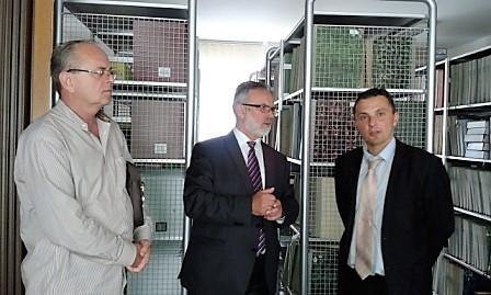 Ministar Dane Malešević u posjeti Biblioteci