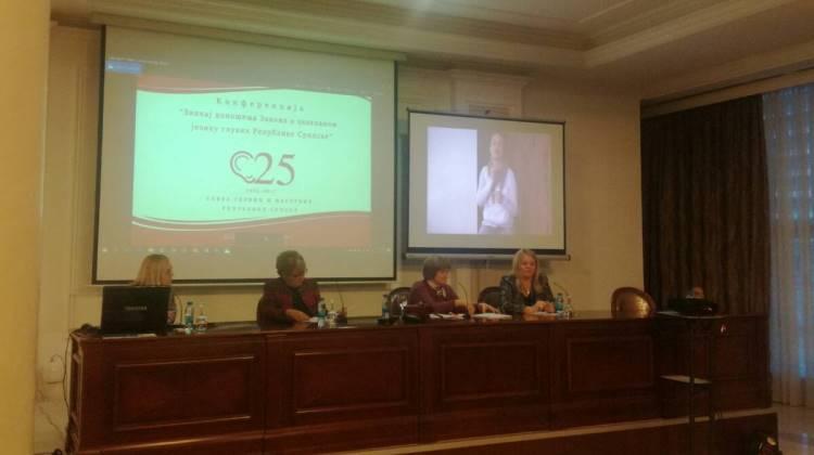 Predstavnici Biblioteke na konferenciji Saveza gluvih Republike Srpske