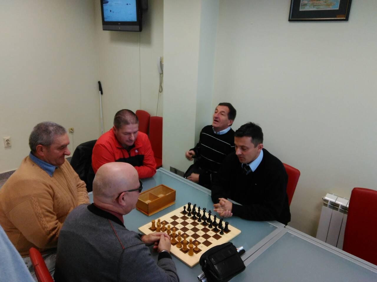 Šahovsko druženje u biblioteci