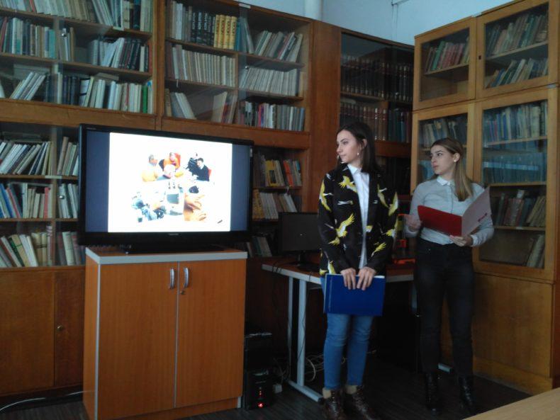 Prezentacija učenika Gimnazije o Specijalnoj biblioteci za slijepa i slabovida lica RS