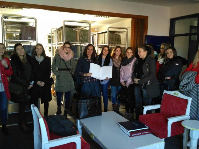 Studenti NUBL-a posjetili Biblioteku