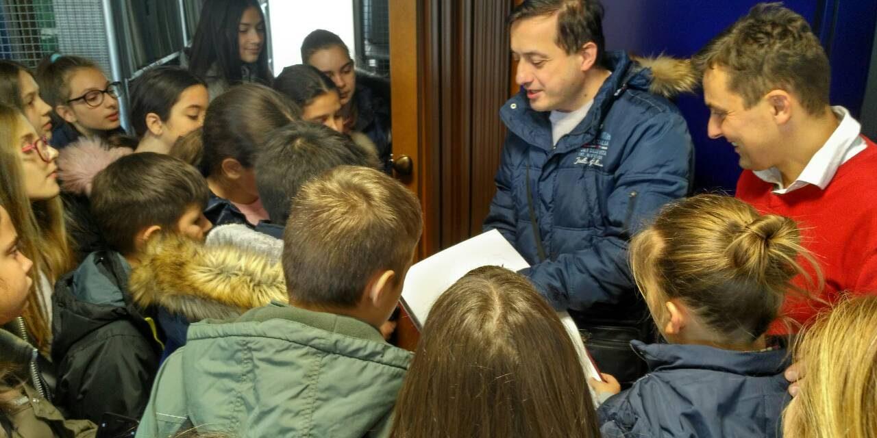 Gusari i đaci u Biblioteci