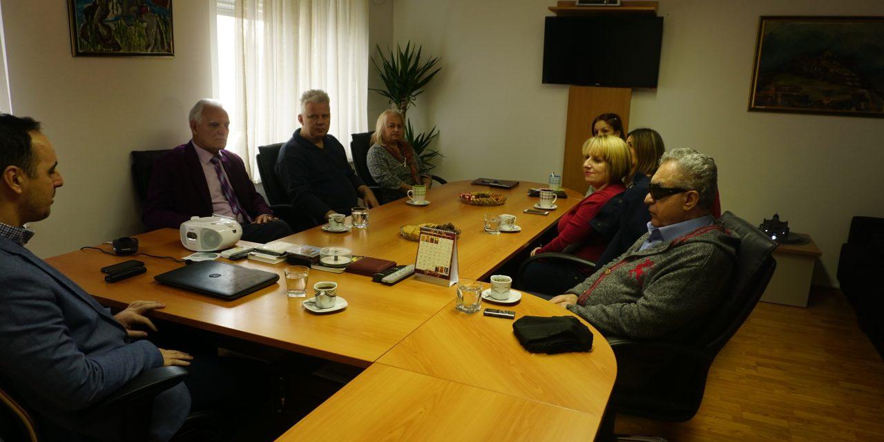 Посјета Библиотеци за слијепе Црне Горе и међубиблиотечка размјена књига