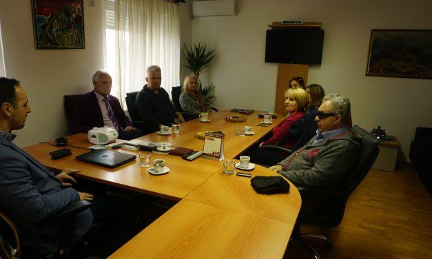 Posjeta Biblioteci za slijepe Crne Gore i međubibliotečka razmjena knjiga