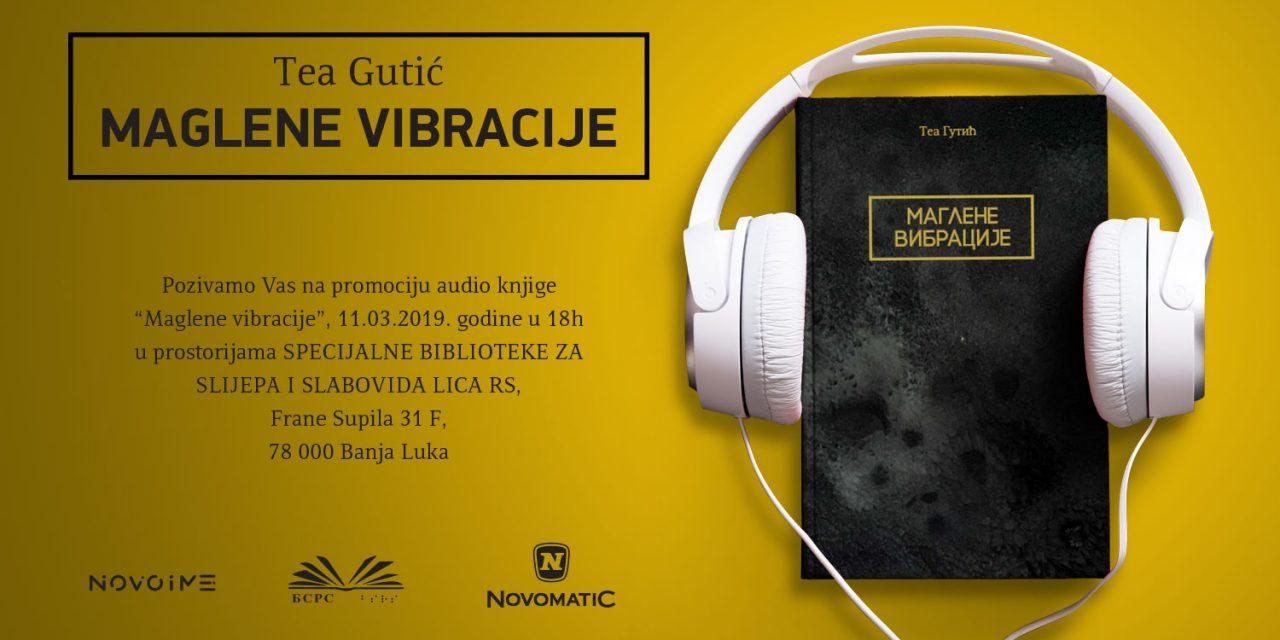 """Promocija zbirke """"Maglene vibracije"""" Tee Gutić – poziv"""