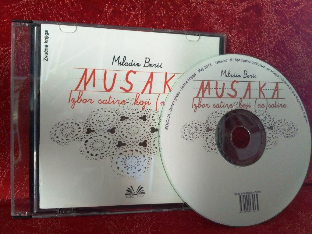 Miladin Berić: Musaka – Izbor satire koji (ne) satire