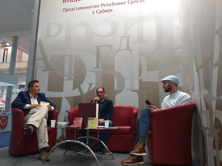 """Knjiga """"Evo ih idu"""" predstavljena na 64. Međunarodnom beogradskom sajmu knjiga"""