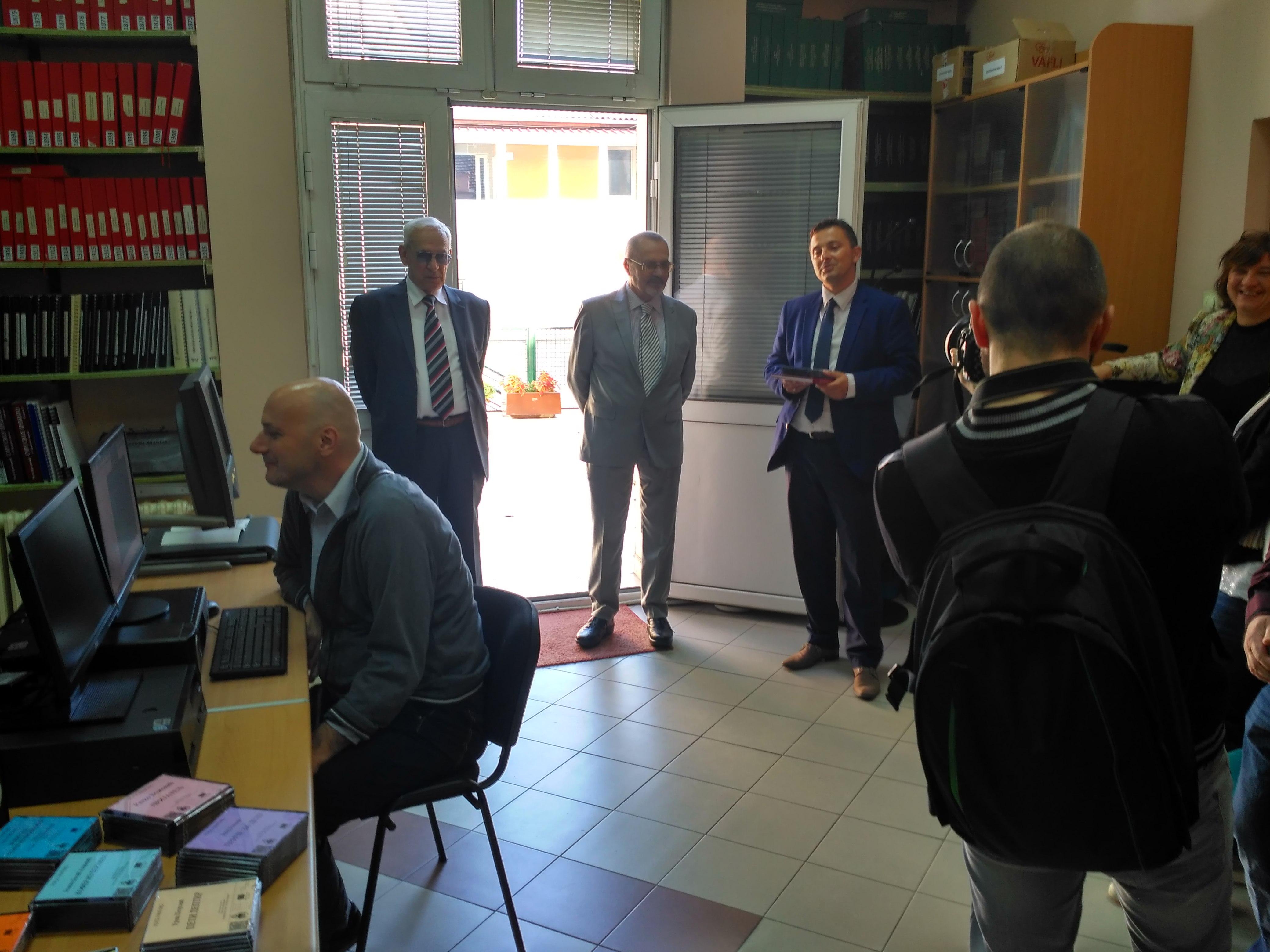 Delegacija Specijalne biblioteke na obilježavanju 70 godina rada i postojanja Saveza slepih Vojvodine
