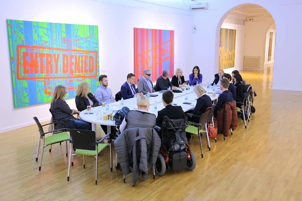 """Direktor Specijalne biblioteke na okruglom stolu """"Stanje i perspektive u ustanovama kulture u svjetlu poštovanja različitosti"""""""