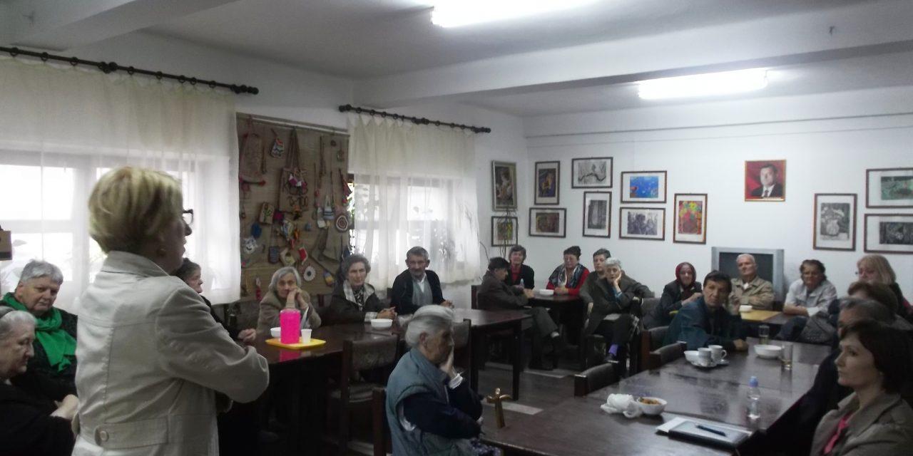 Сарадња са ЈУ Центар за социјални рад – Презентација услуга Специјалне библиотеке старим лицима