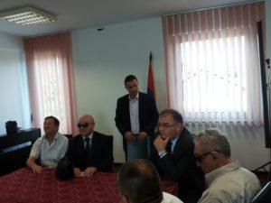 Radomir Radanovic, Miroslav Mandic, Zelimir Radinovic, Mladen Ivanic i Branko Suzic