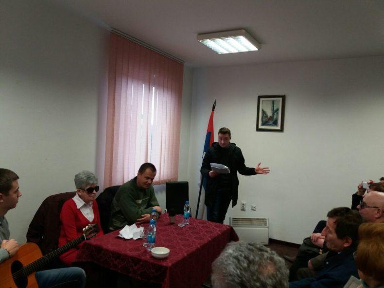 """Pretpromocija knjige """"Bez smisla, bez reda"""" Borke Tadić"""