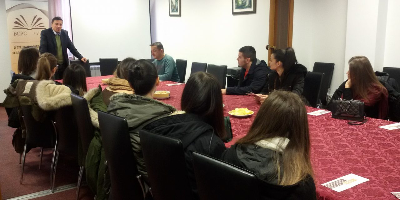 Studenti NUBL u studijskoj posjeti Specijalnoj biblioteci