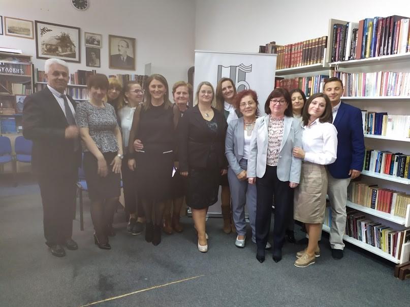 Direktor Specijalne biblioteke prisustvovao prijemu u Gradišci