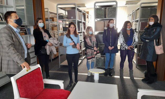 Studenti Nezavisnog univerziteta Banja Luka posjetili Biblioteku